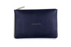 Katie Loxton ONE IN A MILLION Perfect Pouch Clutch Bag - Navy